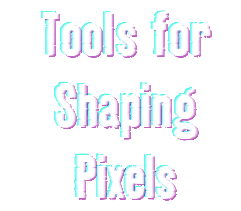 Weapons for Battling PIxels