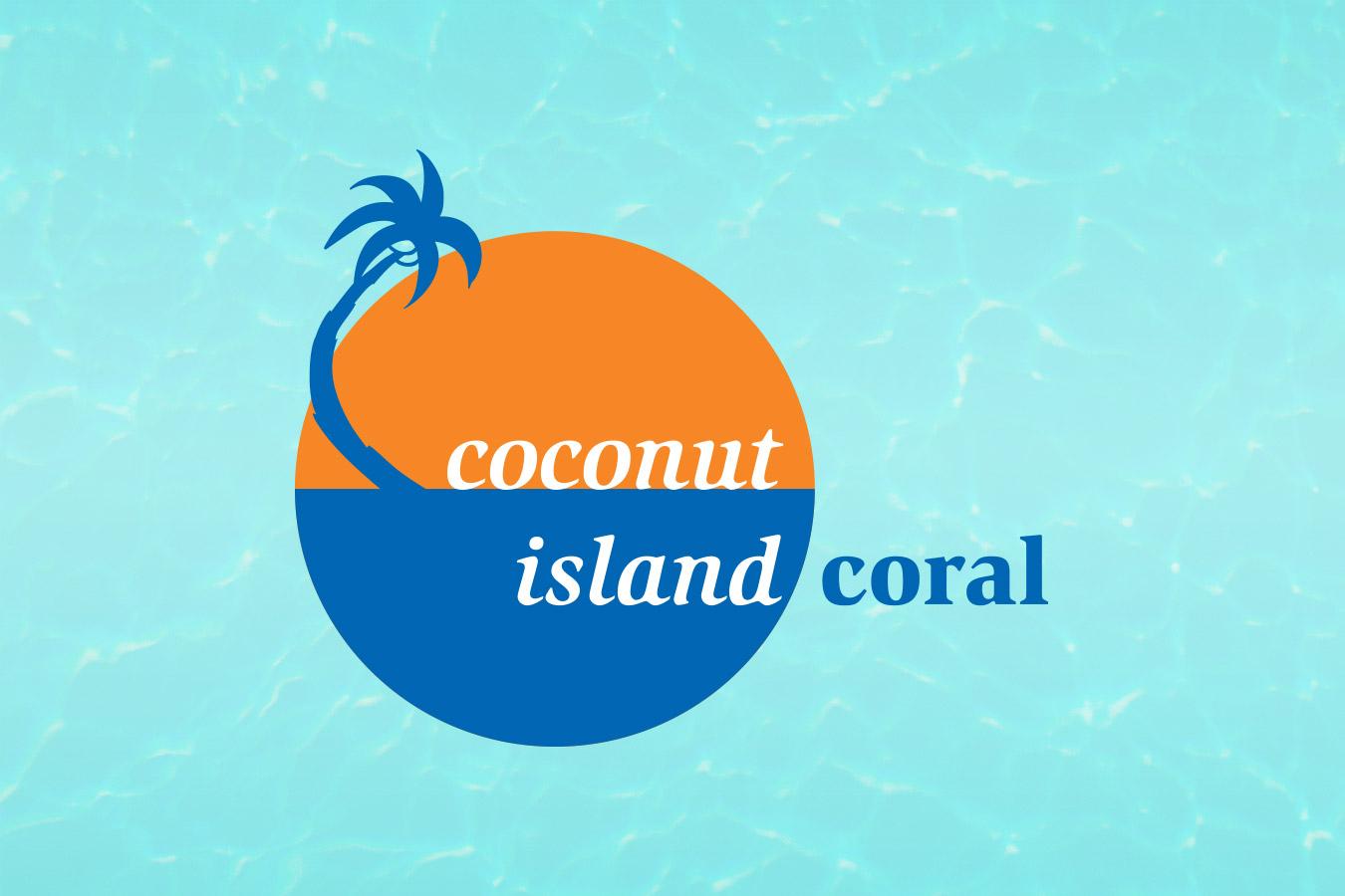 Coconut Island Coral logo