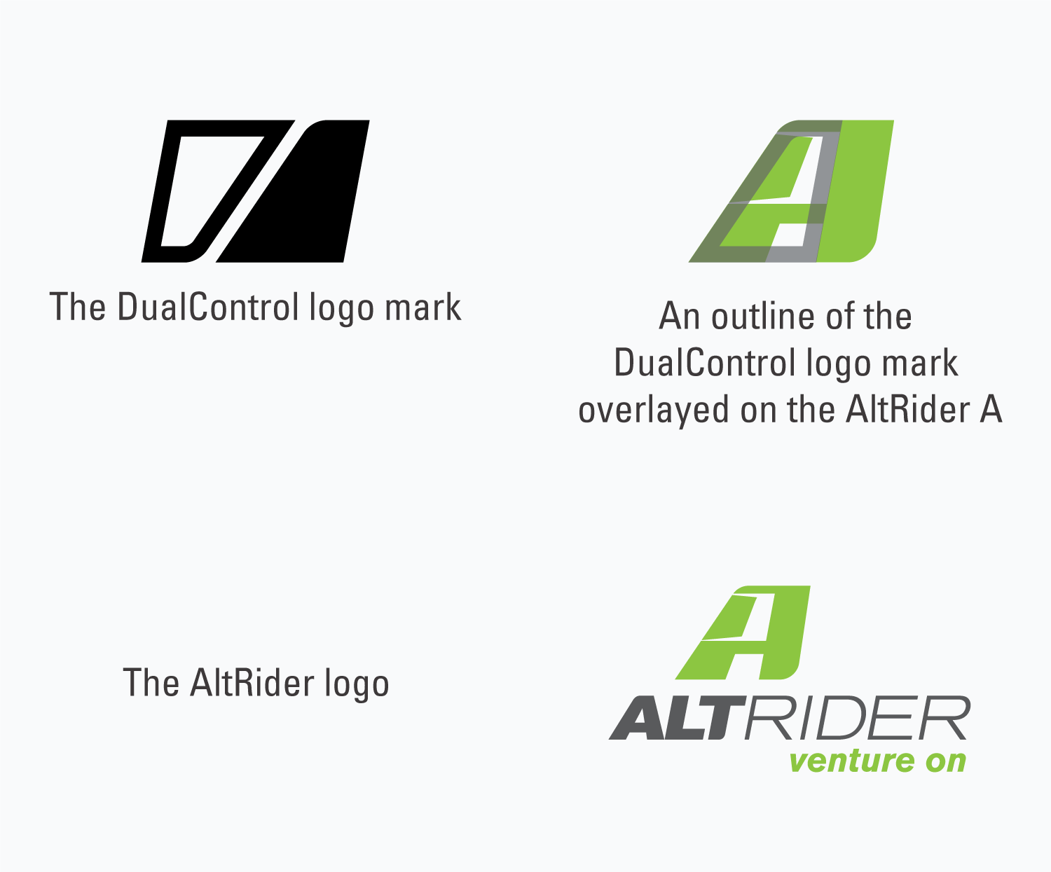 The DualControl Brake System mark and the AltRider logo.
