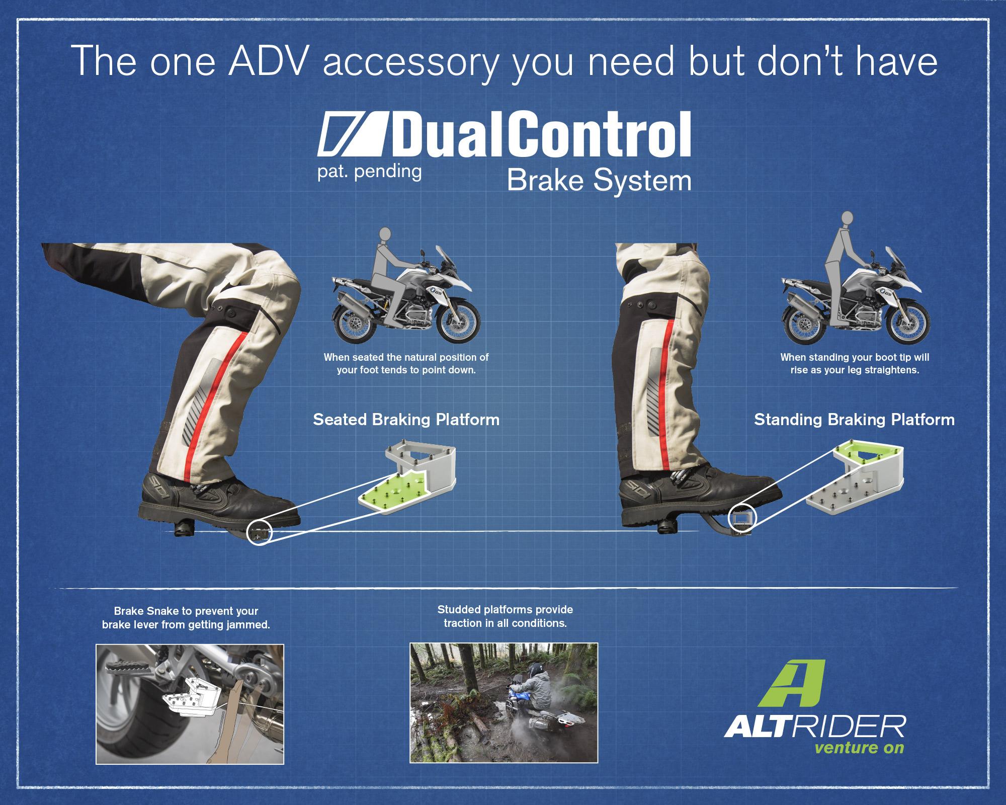 DualControl Brake System poster