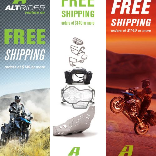 Google display ad promotion for free shipping.