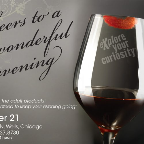Print ad for a promotional event.